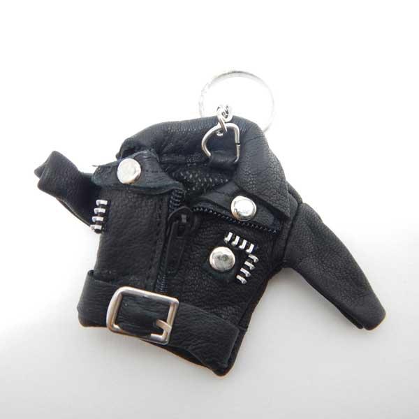 レザージャケット キーホルダー/キーリング