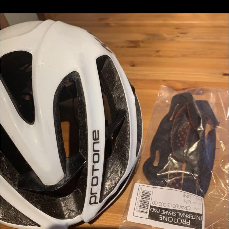 PROTOOLS プロトーネ、ヘルメット ホワイト、