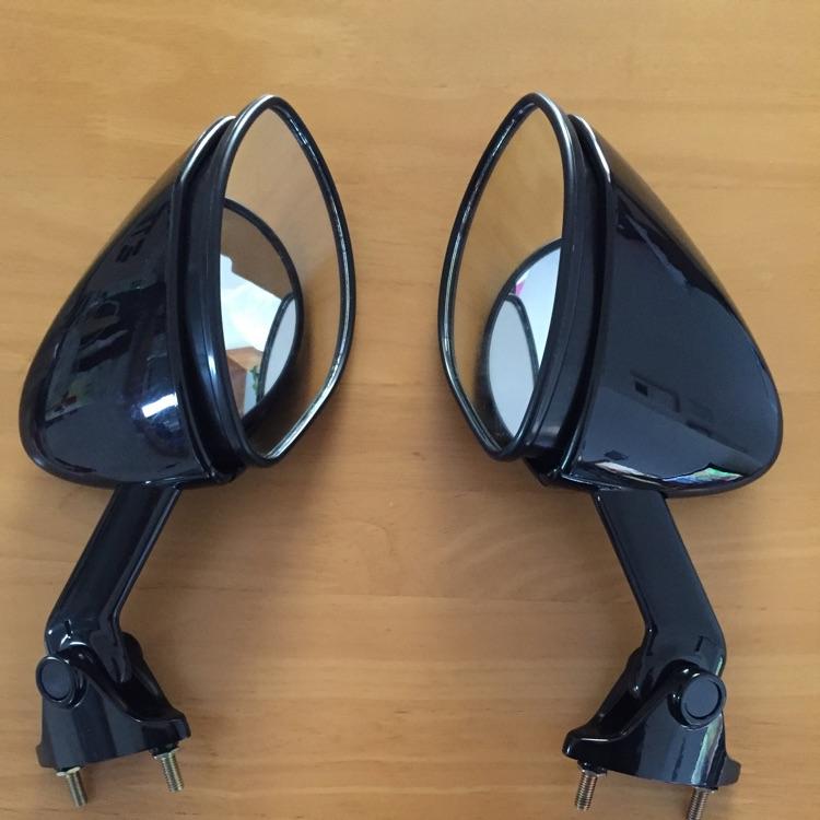 カワサキZX12R(B型)用純正ミラー新品未使用左右セット