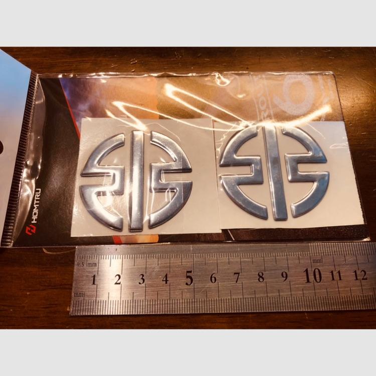 カワサキ kawasaki リバーマーク 3D ステッカー デカール