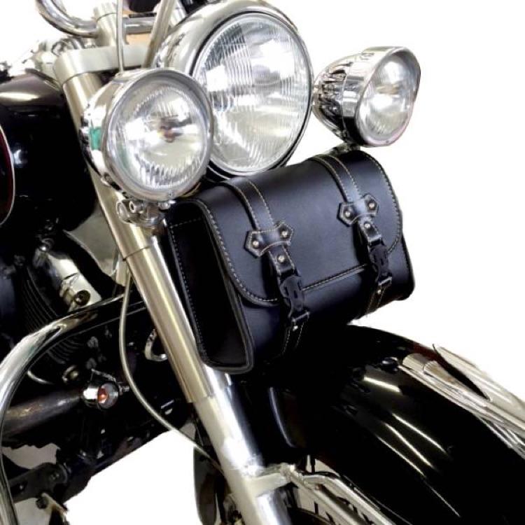 バイク ツールバック 新品 ワンタッチ開閉型 角型 ツーリング