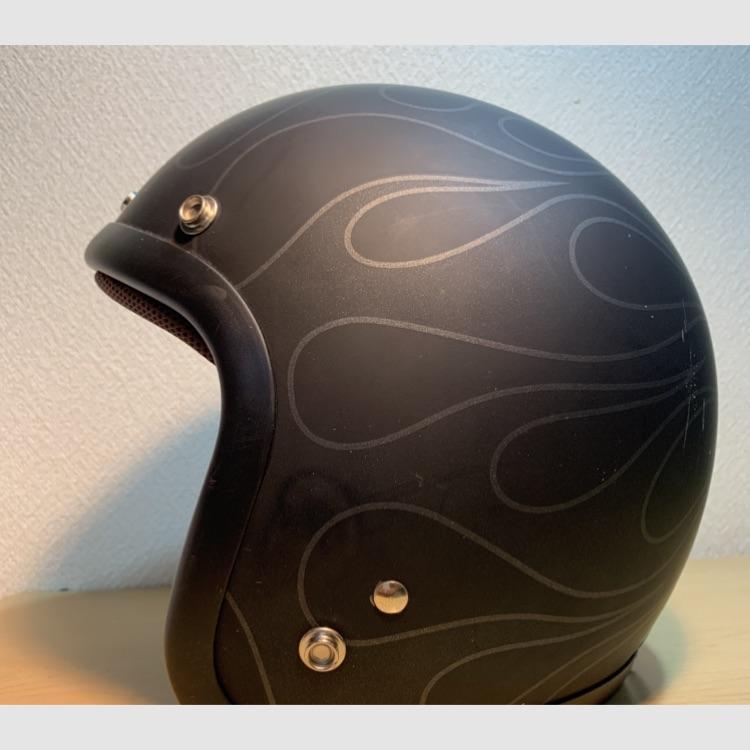 72JAM デザイナーズジェットヘルメット【中古】