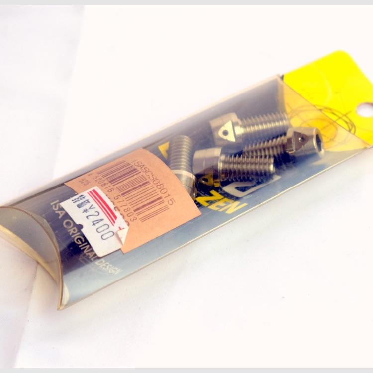 ISA フランジ6角ボルト M8 x 15 x P1.25 4個 ステンレス