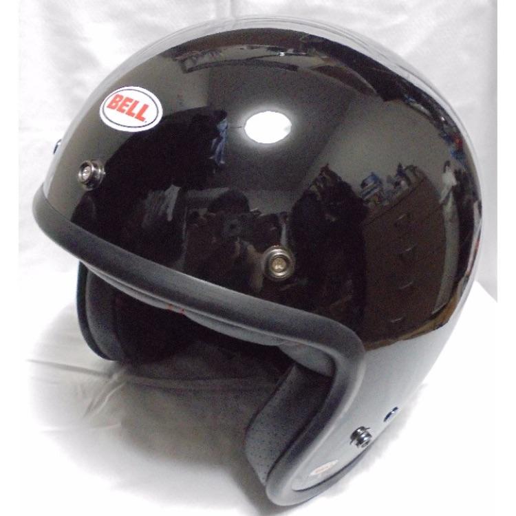 【新品】BELL CUSTOM 500 ブラック ジェットヘルメット Sサイズ
