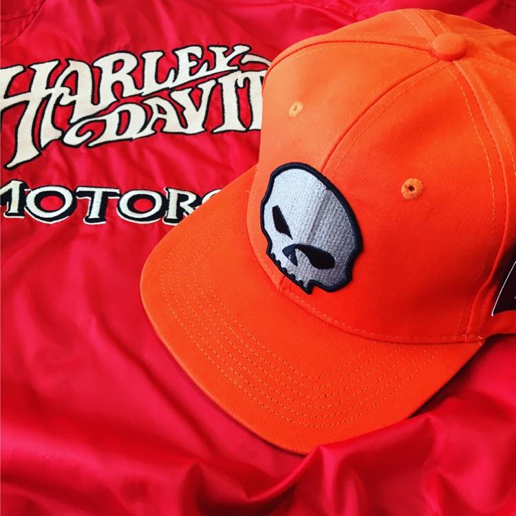 ★Harlay-Davidson★ウィリー・G スカルコレクションキャップ