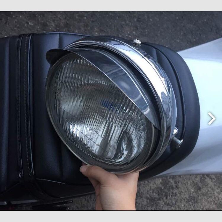 ジェイド、ホーネット250  ヘッドライト