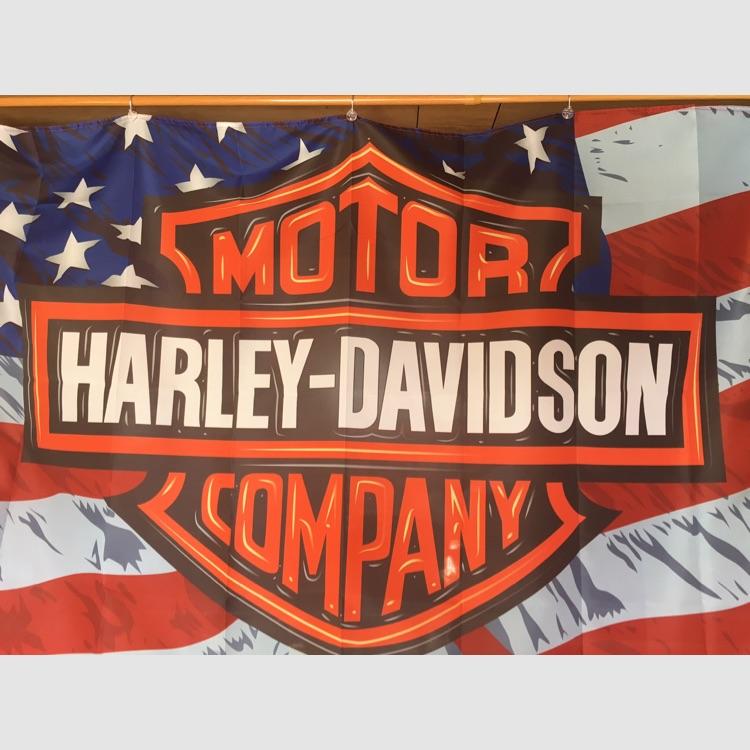 ☆特大☆Harley-Davidson フラッグ タペストリー