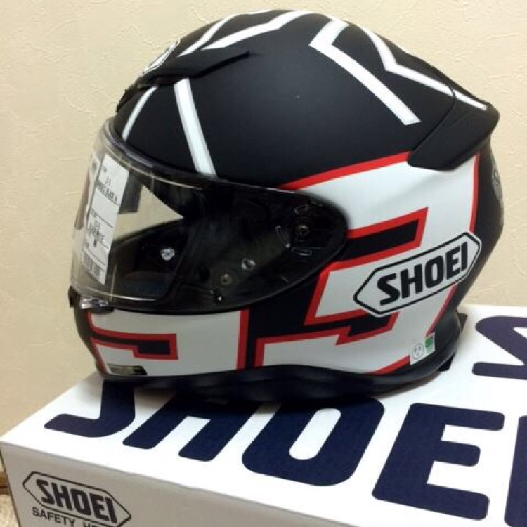 [SHOEI] Z-7 MARQUEZ BLACK ANT