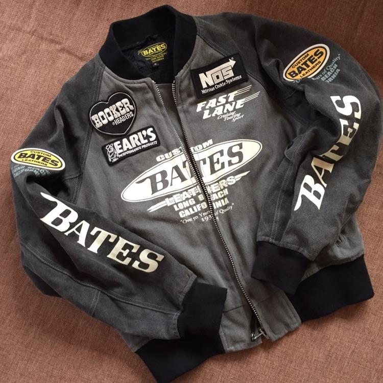 BATES デニムライダースジャケット Mサイズ