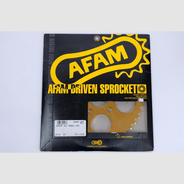 AFAM Rスプロケ ハーレー用 530-42T