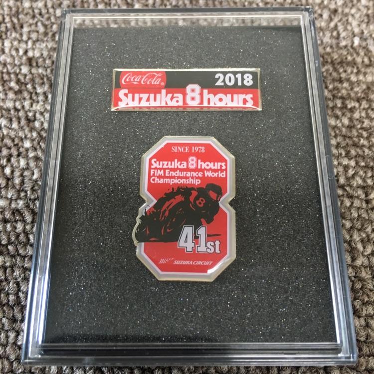 鈴鹿8耐 オフィシャル ピンバッチセット