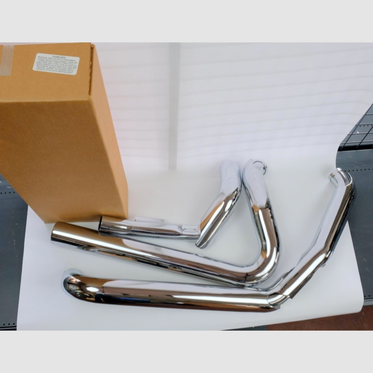 16771  VanceHines DRESSER DUALS HーPIPES TOURING