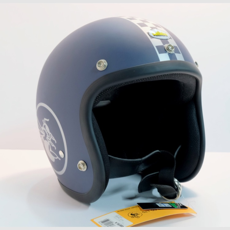 ★40%off!★ BBHM / 03N チェッカー ジェットヘルメット