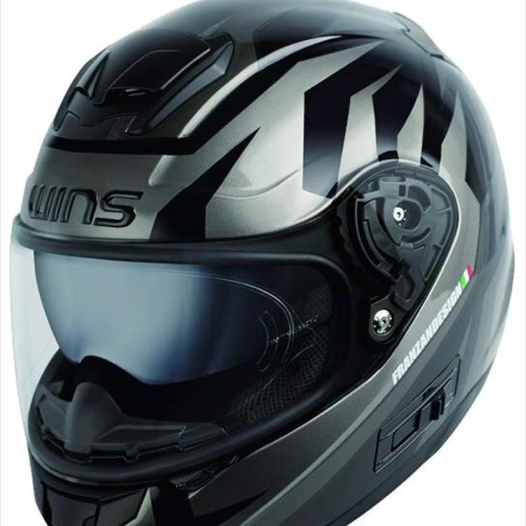 【WINS】ヘルメット TANATOS 【ガンメタ】
