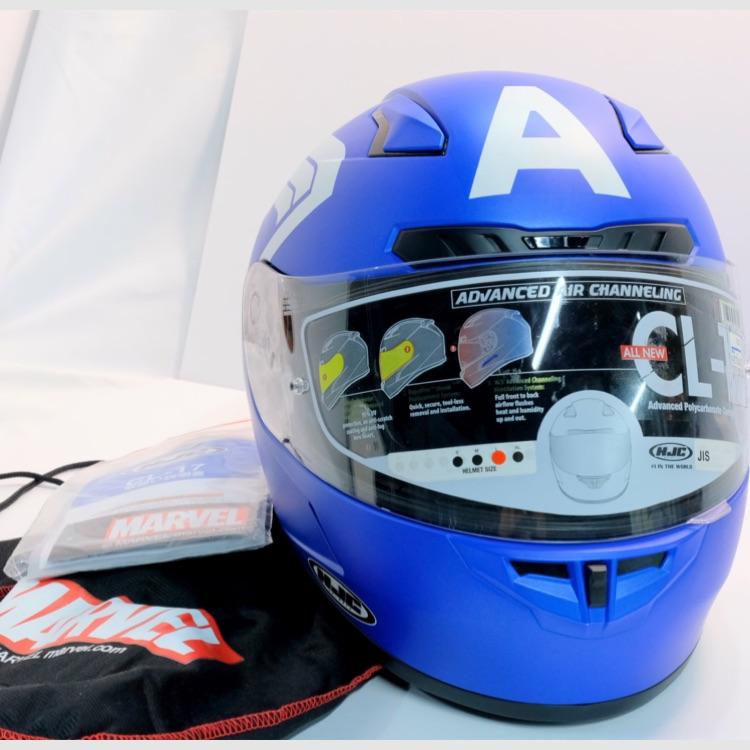 ★40%off!★ HJC / キャプテンアメリカ フルフェイスヘルメット
