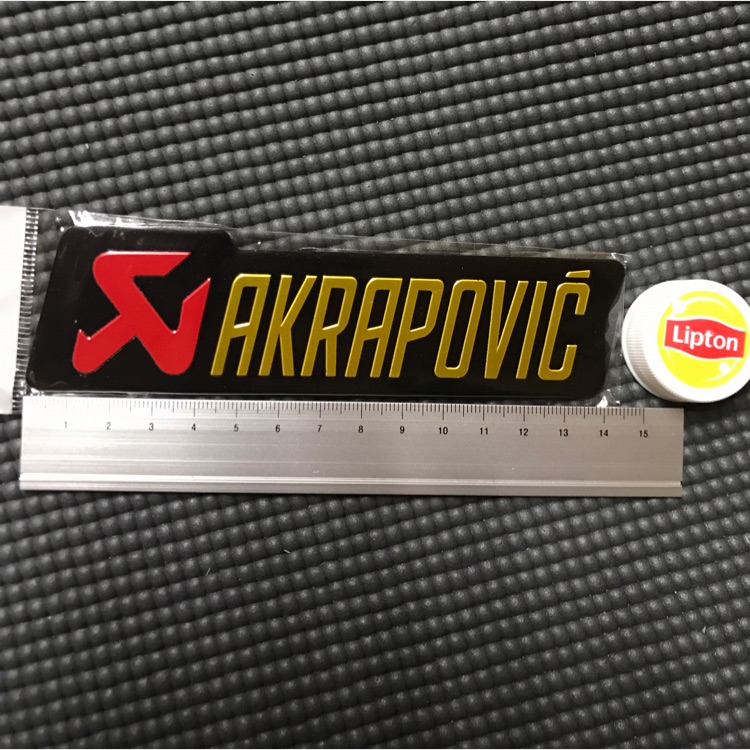 アクラポビッチ メタル ステッカー