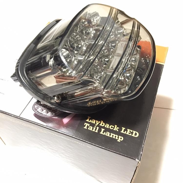 ハーレーダビッドソン ソフテイル 2016製 LEDテール 美品