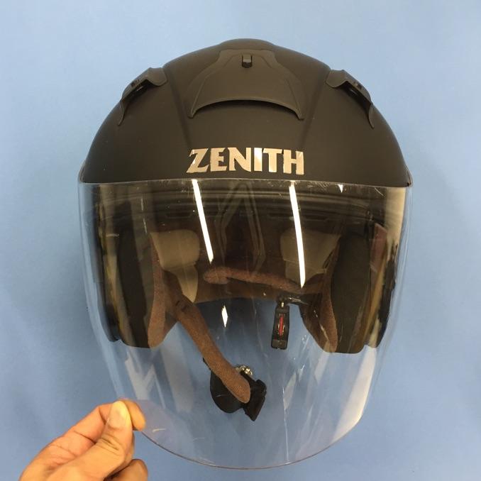 ZENITHジェットヘルメットMサイズ