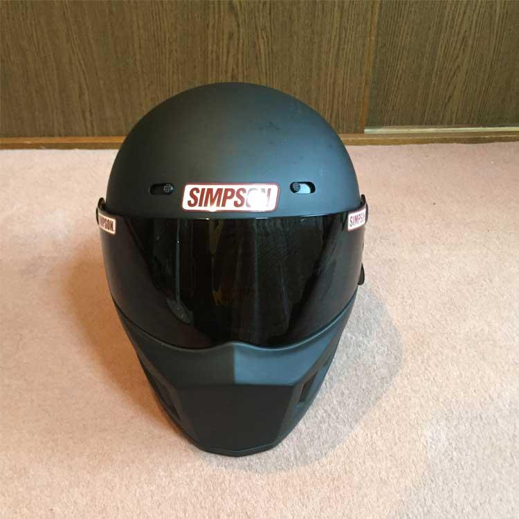 美品 SIMPSON シンプソン ヘルメット SB13 スーパーバンディット