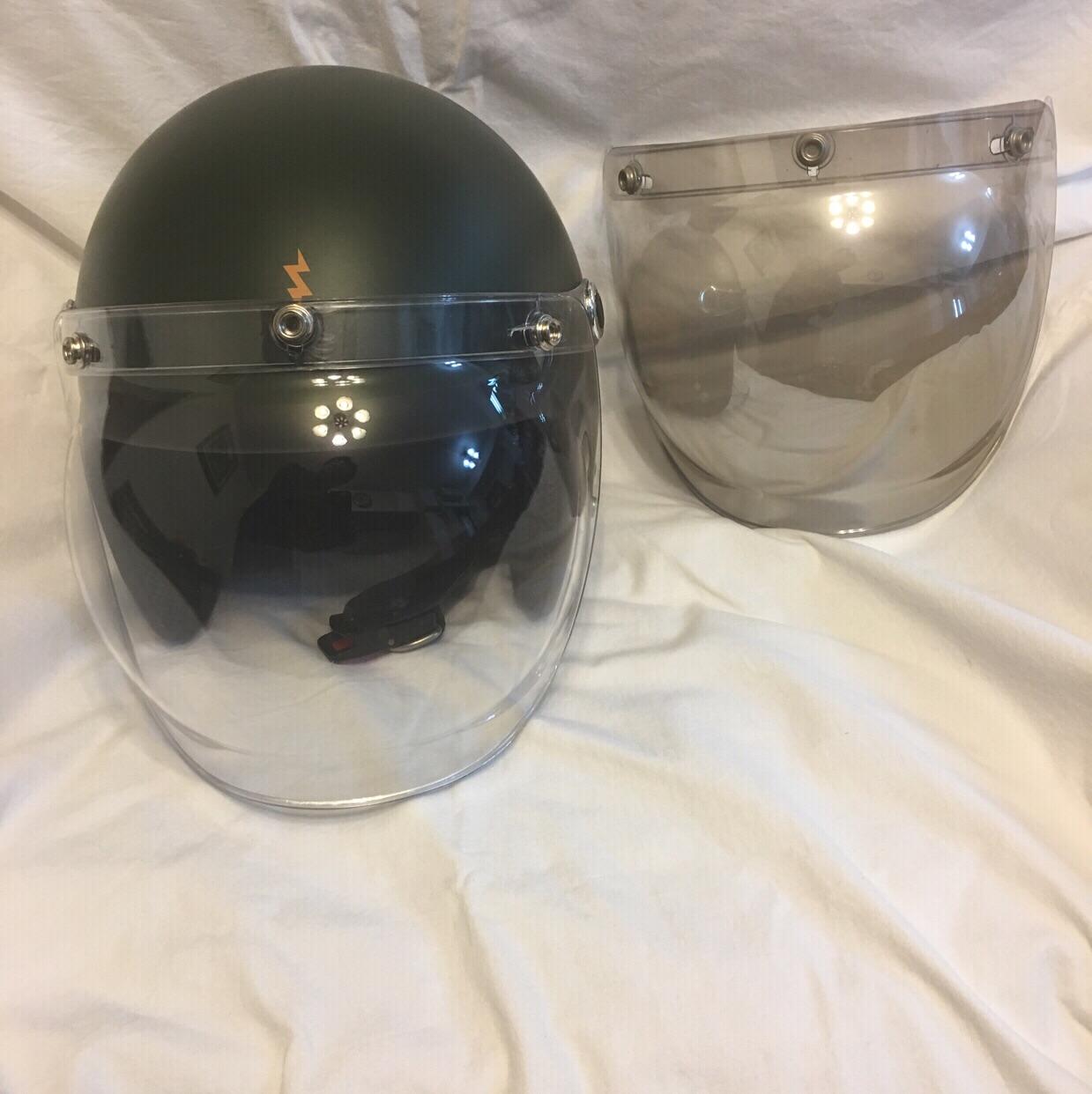 リード製 ヘルメット ミラーシールド付
