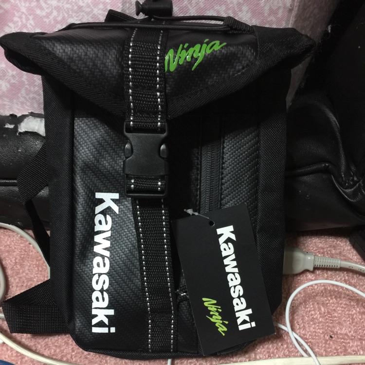 新品未使用品!!! Kawasakiホルスターバック