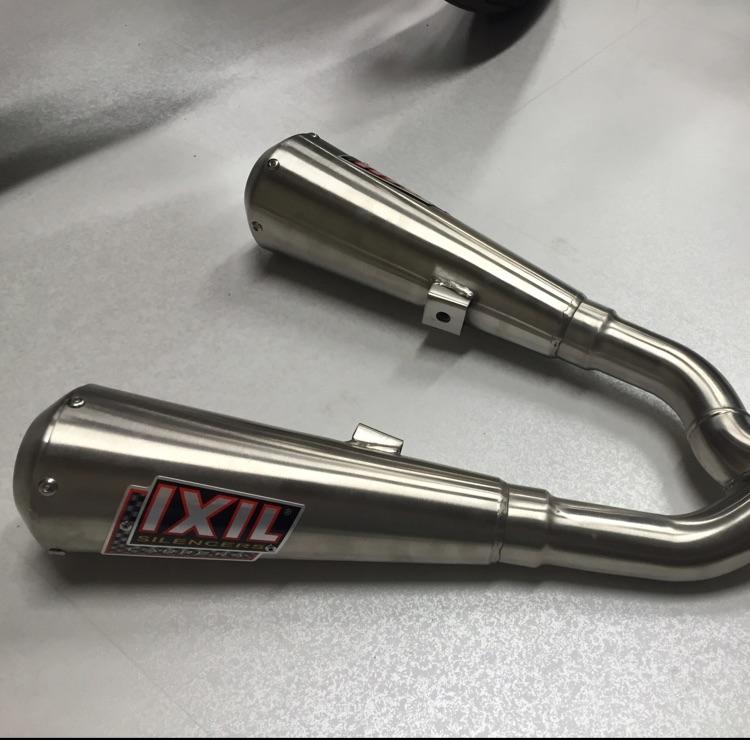 KTM duke390用IXILサイレンサー