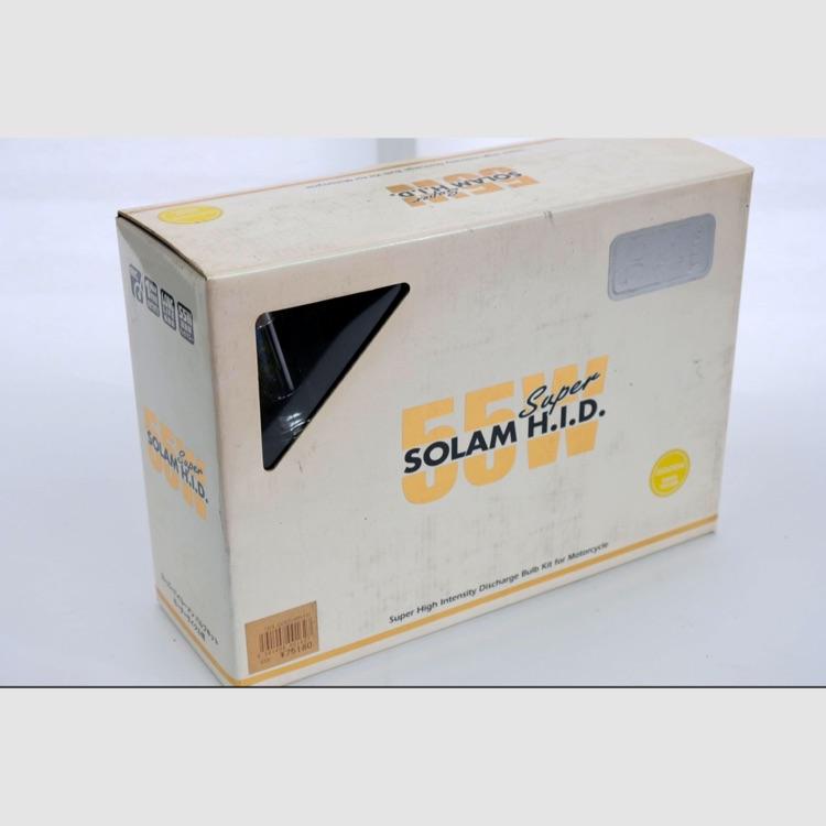 H.I.D.   SOLAM HID 55W H4 HI/LOW切替 3000K
